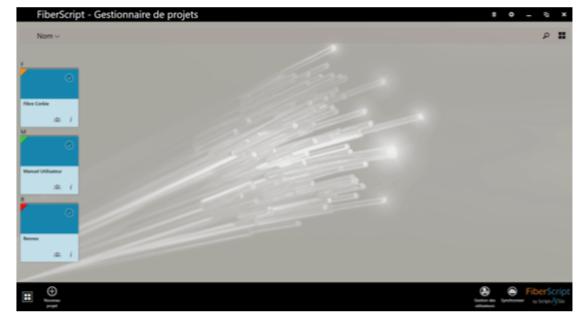 Gestion de projets - FiberScript